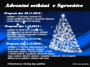 plakát advent 2018